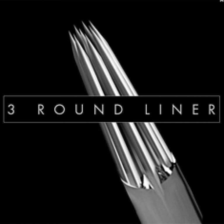 Иглы напаянные KWADRON Round Liner Long Taper 3RLLT