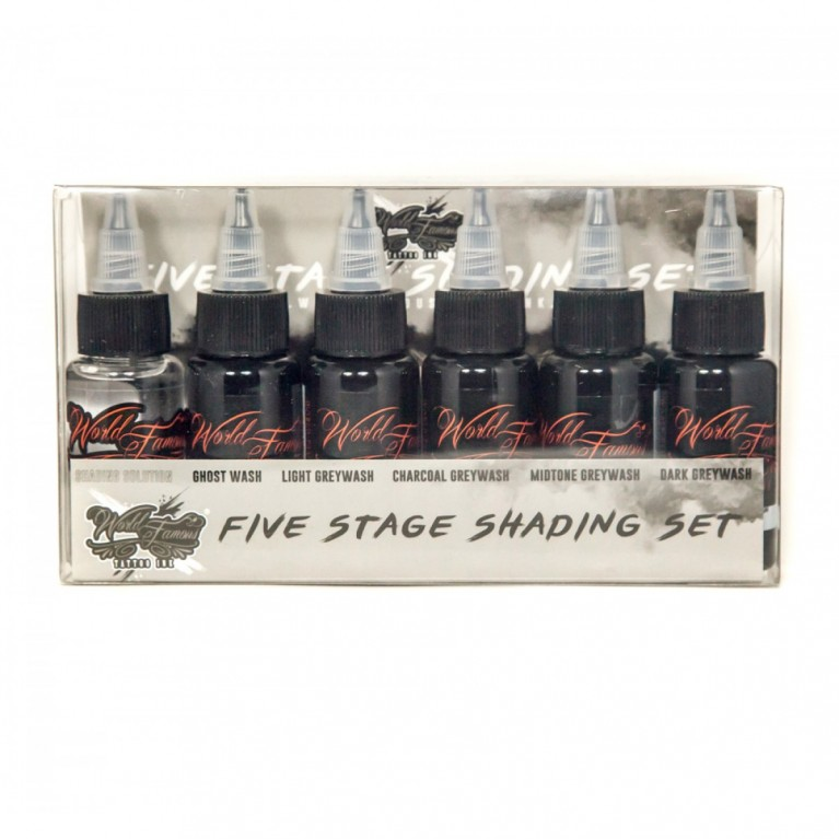 World Famous 5 Stage Shading Set - 6 шт