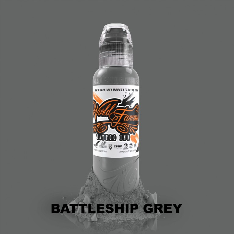 World Famous - Battleship Grey