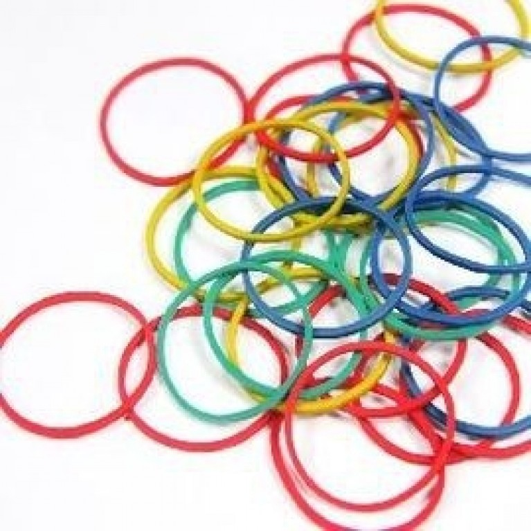 Mixed rubber band
